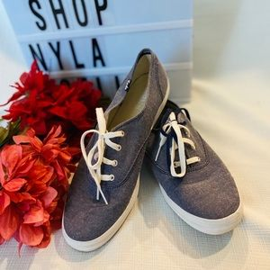 Keds baby blue & white size 10 shoes